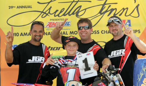 Cooper Webb's Autographed 2010 Loretta Lynn's Thor Racing Jersey