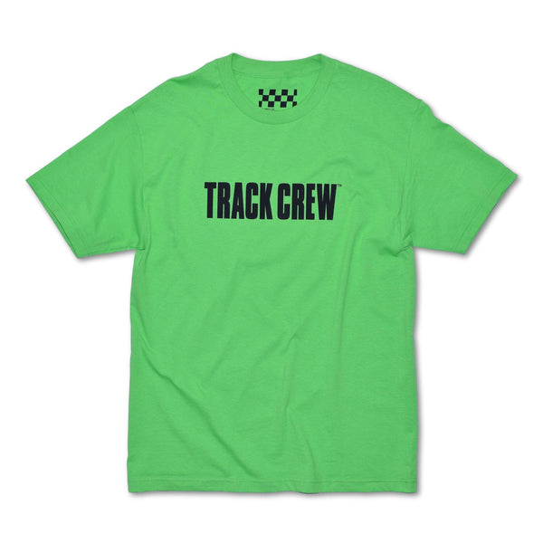 TRACK CREW T-SHIRT - LIME