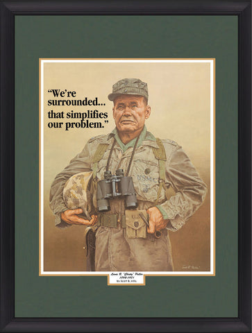 """Chesty Puller"" Military History Art"