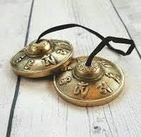 Handcrafted Tibetan Meditation Tingsha Cymbal - 40% OFF - 6 Lynx - Boho Accessories