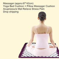 Acupuncture Healing Mat - Relieve Stress and Pain Points with Acupressure - For Sleep, Yoga, Meditation - 70% OFF - 6 Lynx - Boho Accessories