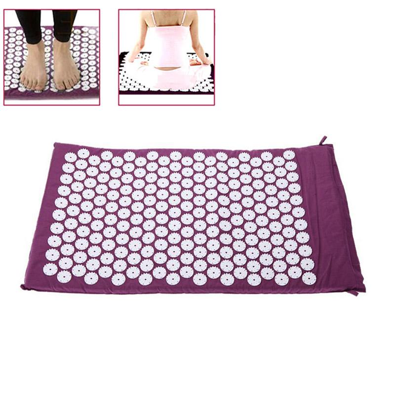Acupuncture Healing Mat - Relieves Stress and Pain Points with Acupressure - For Sleep, Yoga, Meditation - 50% OFF - 6 Lynx - Boho Accessories