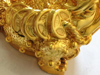 Electroplated golden lucky  statue frog lucky feng shui decorations - 6 Lynx - Boho Accessories
