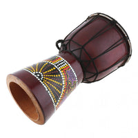 6 Inch Professional African Djembe Drum Classic - Save 60% Today - 6 Lynx - Boho Accessories