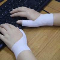 1pcs Silicone Gel Therapy Wrist Thumb Support Gloves Arthritis Pressure Corrector Gloves - 6 Lynx - Boho Accessories