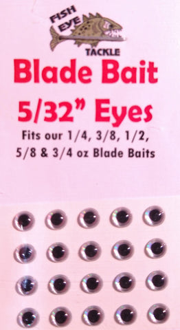 "3-D Eyes 5/32"" / 4mm 10 pair"