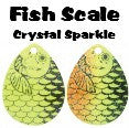BLADES #4 Colorado Fish Scale Crystal 3pk