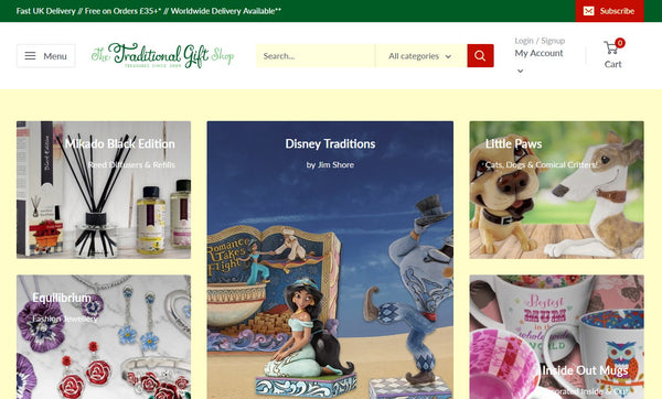 The Gift Shop Oulton Broad Online Shop - thetraditionalgiftshop.com