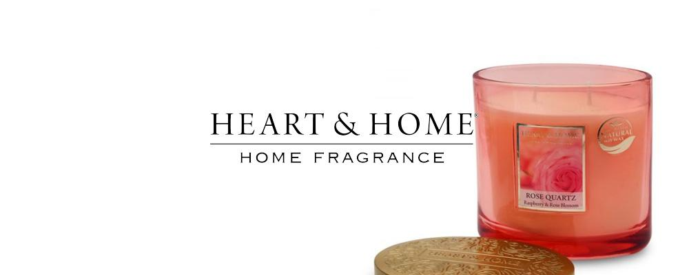Heart & Home Fragranced Candles & Reed Diffusers