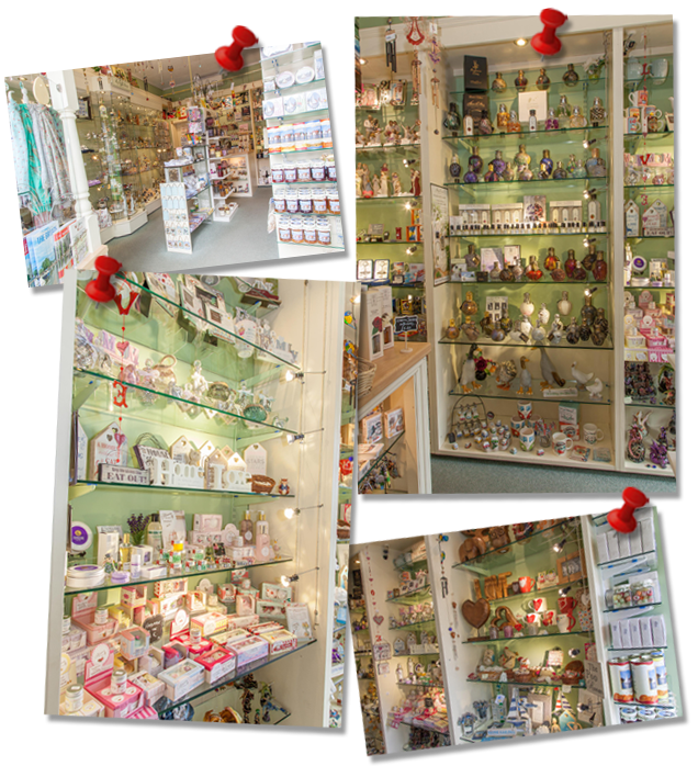 Inside The Gift Shop Oulton Broad