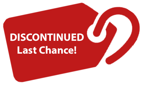 Discontinued - Last Chance!