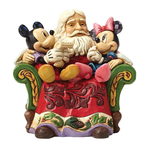 Christmas Wishes (Santa with Mickey & Minnie Mouse)
