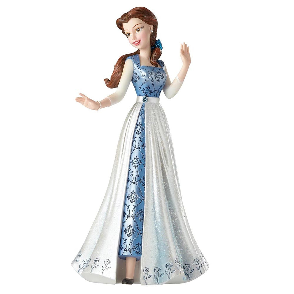Belle in Blue Dress Figurine - The Gift Shop Oulton Broad