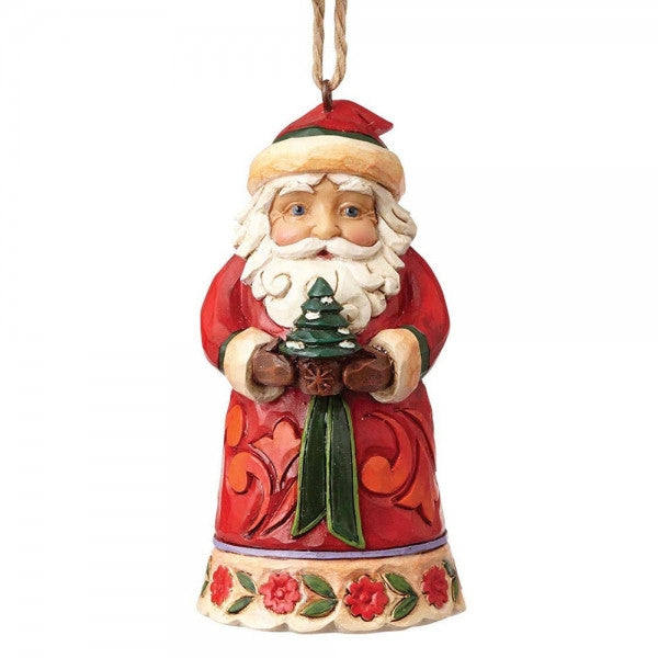 Mini Santa (Hanging Ornament)