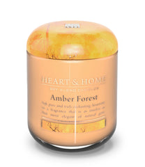 Amber Forest Large Candle - The Gift Shop Oulton Broad