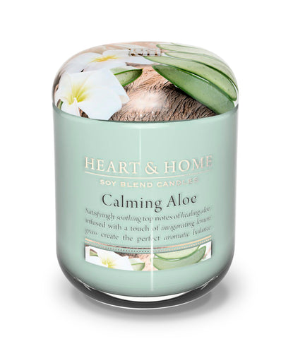 Calming Aloe Large Candle