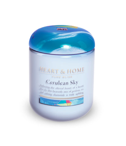 Cerulean Sky Small Candle