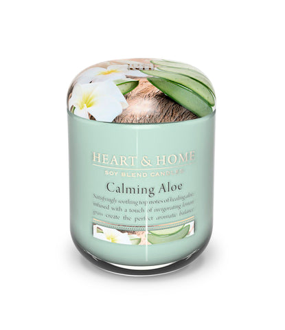 Calming Aloe Small Candle