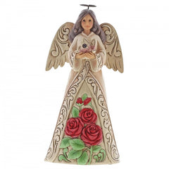 June Birthstone Flower Angel - The Gift Shop Oulton Broad