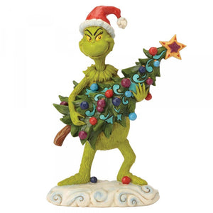 The Grinch Stealing Christmas Tree