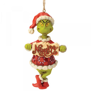 The Grinch Naughty or Nice Hanging Ornament