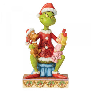 The Grinch with Cindy Lou & Max