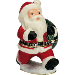 Large Santa Trinket Box - The Gift Shop Oulton Broad