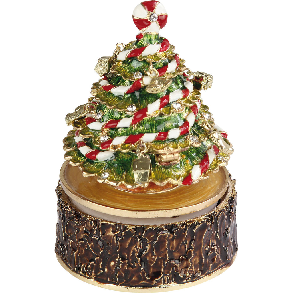 Christmas Tree Musical Trinket Box - The Gift Shop Oulton Broad