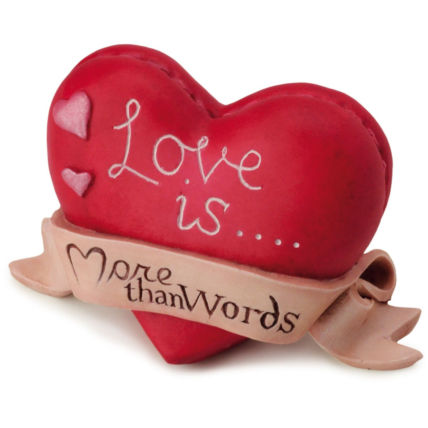Love Is…  More Than Words Heart