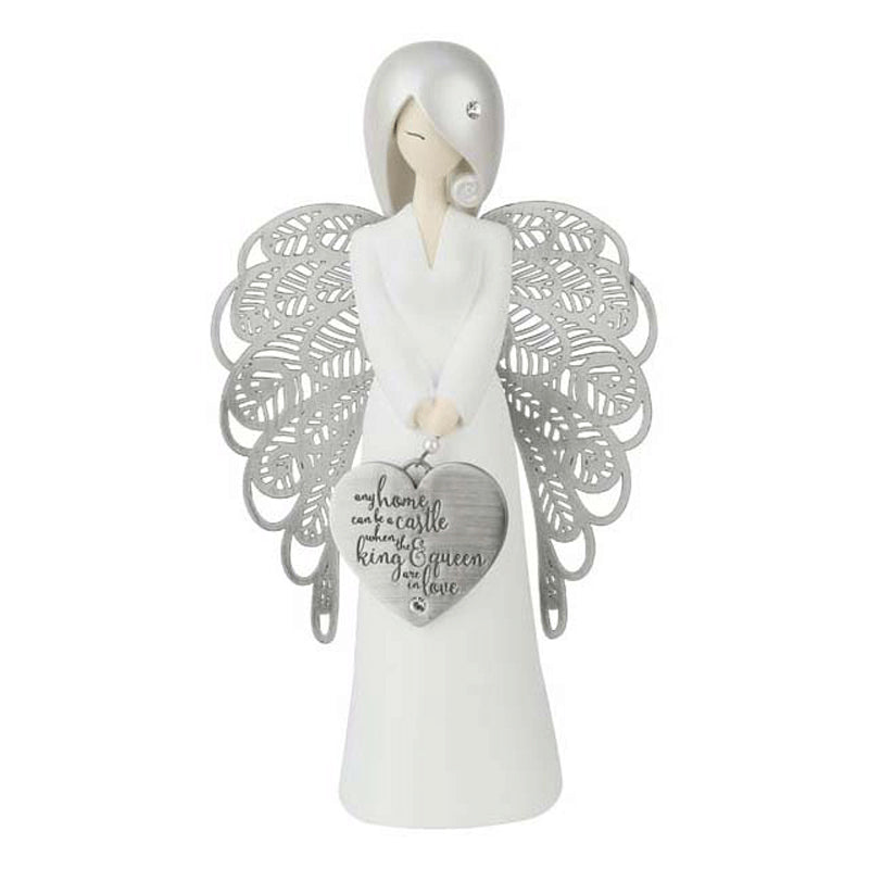 Any Home Can Be (Wedding) Angel Figure - The Gift Shop Oulton Broad