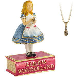 Alice Trinket Box - Secrets from Hidden Treasures from thetraditionalgiftshop.com