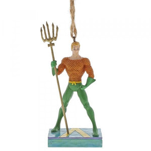 Aquaman Silver Age (Hanging Ornament) - DC Comics by Jim Shore from thetraditionalgiftshop.com