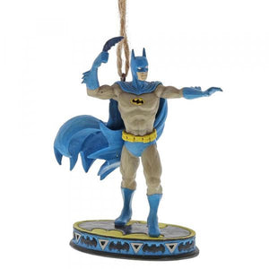 Batman Silver Age (Hanging Ornament) - DC Comics by Jim Shore from thetraditionalgiftshop.com