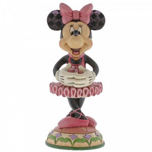 Beautiful Ballerina (Minnie Mouse) Nutcracker - Disney Traditions from thetraditionalgiftshop.com