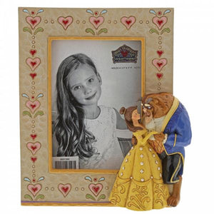 Beauty & the Beast Frame - Disney Traditions from thetraditionalgiftshop.com