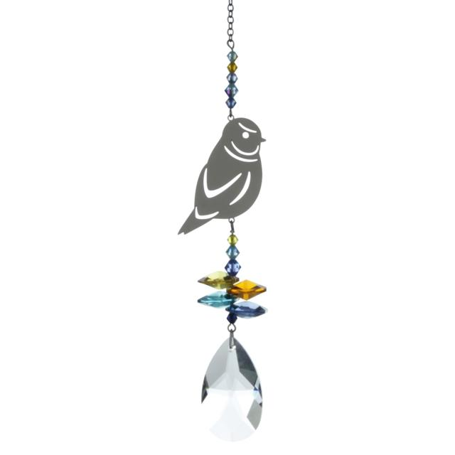 Blue Tit  Crystal Fantasies Suncatcher