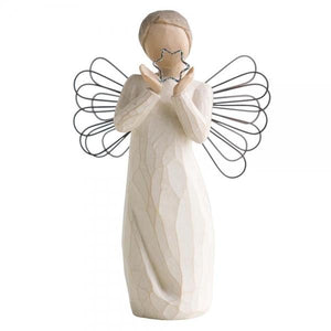 Bright Star Angel - Willow Tree from thetraditionalgiftshop.com