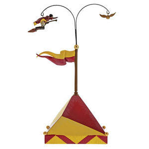 Chasing the Snitch - Harry Potter Village by Department56 from thetraditionalgiftshop.com