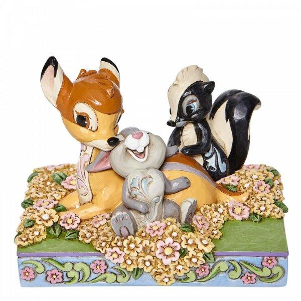 Childhood Friends (Bambi with Flower and Thumper) - Disney Traditions from thetraditionalgiftshop.com