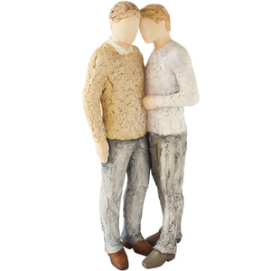 Devoted (Male Couple) - More Than Words from thetraditionalgiftshop.com