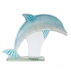 Dolphin Fused Glass Ornament - D&J Glassware Fused Glass from thetraditionalgiftshop.com