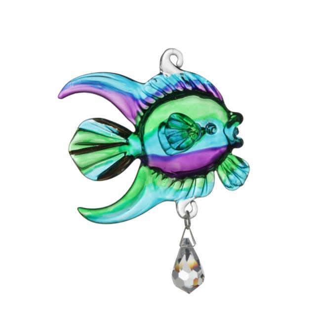 Fantasy Glass Fish - Peacock
