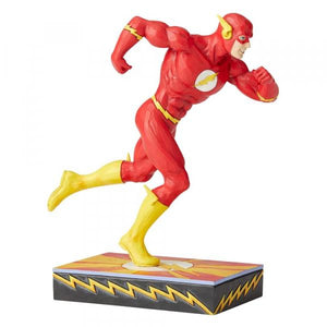 Flash Silver Age Figurine - DC Comics by Jim Shore from thetraditionalgiftshop.com