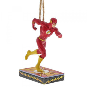 Flash Silver Age (Hanging Ornament) - DC Comics by Jim Shore from thetraditionalgiftshop.com