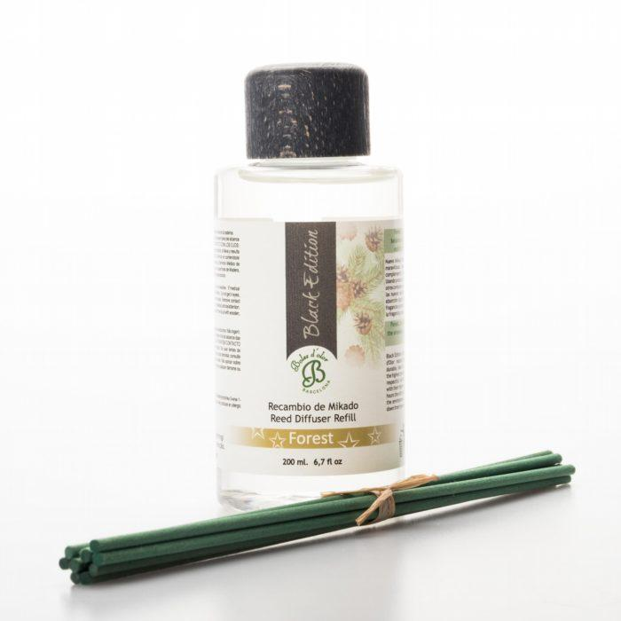 Forest Mikado Black Edition Reed Diffuser Oil Refill (200ml)