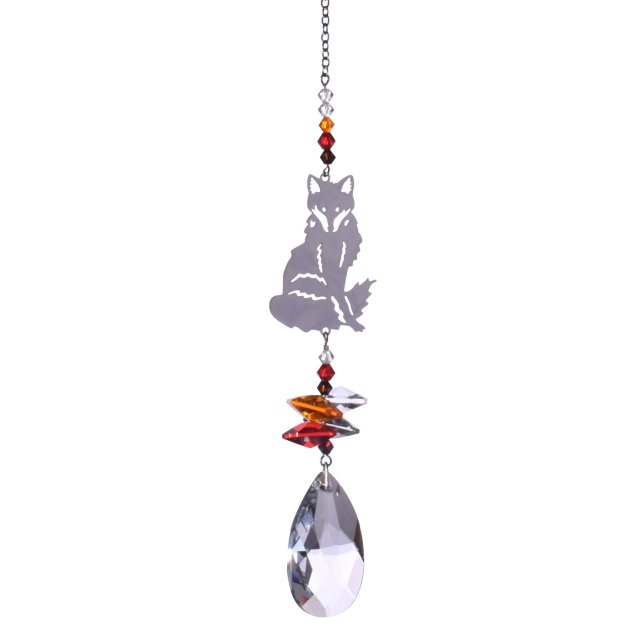 Fox Crystal Fantasies Suncatcher