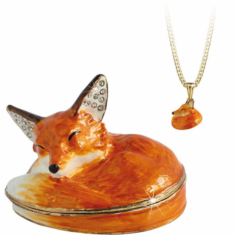 Fox Trinket Box