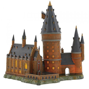 Hogwarts Great Hall & Tower - Harry Potter Village by Department56 from thetraditionalgiftshop.com