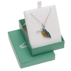 Kingfisher Paua Shell Necklace - Tide Jewellery from thetraditionalgiftshop.com