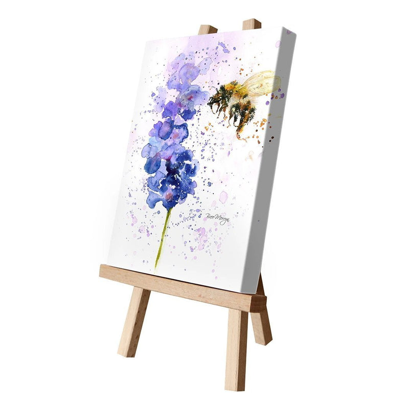 Lavender Mist (Flower & Bee) Canvas Cutie - Bree Merryn Art from thetraditionalgiftshop.com